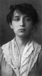 Camille Claudel, age 19