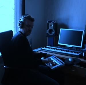 Ari Porki in his studio