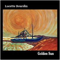 Album cover: Golden Sun by Lucette Bourdin