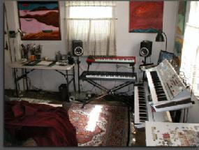 Lucette Bourdin's studio