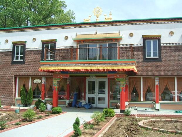 Tibetan Mongolian Buddhist Cultural Center - temple building