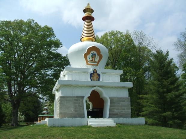 Stupa at TMBCC, Bloomington IN