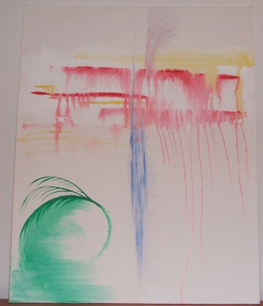 Painted by Phoenix Heller, April 7, 2012, to music of eyes cast down