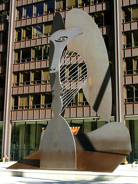 Chicago Picasso - Photo by J Crocker 2004