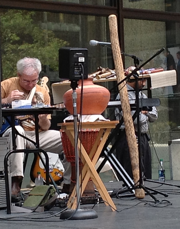 eyes cast down Live at Daley Plaza 9-25-12