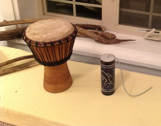 Mini Djembe and Thunder Tube