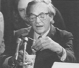 Richard Feynman at Challenger hearing