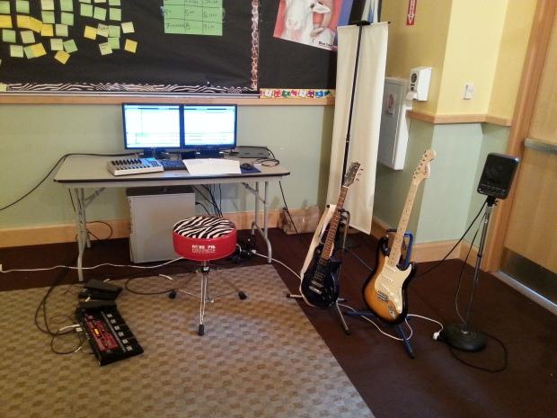 Pre-Concert Setup