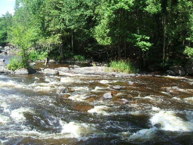 Wolf River Rapids